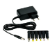 MCL PS-12DC-2A/7P adaptador e inversor de corriente Interior 24 W Negro