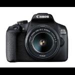 Canon EOS 2000D BK 18-55 IS II EU26 SLR Camera Kit 24.1 MP CMOS 6000 x 4000 pixels Black