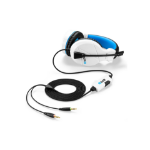 Sharkoon RUSH ER3 Binaural Head-band Black, Blue, White headset