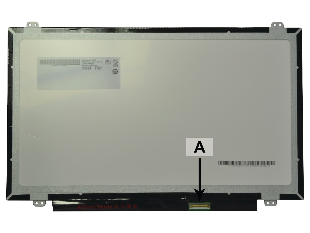 2-Power 14.0 1366x768 WXGA HD LED Glossy Screen - replaces B140XTN02.4