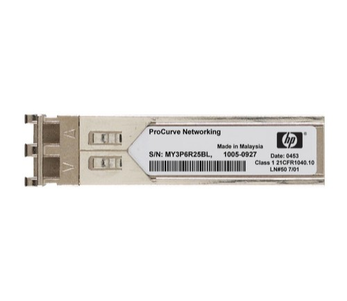 Hewlett Packard Enterprise X130 10G SFP+ LC SR network transceiver module Fiber optic 10000 Mbit/s SFP+ 850 nm