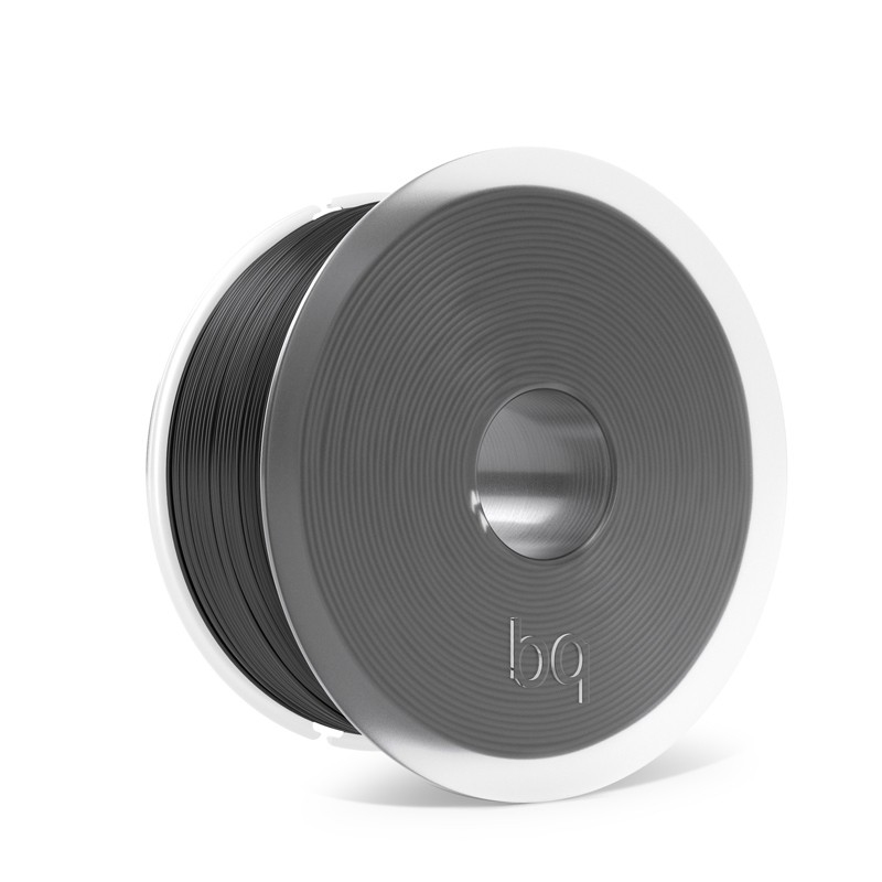 PLA bq 1,75mm Coal Black 1Kg for BQ 3D Printers and all printers that use 1.75mm filament