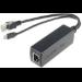 Microconnect MC-POESPLITTER network splitter Black Power over Ethernet (PoE)