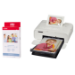 Canon SELPHY CP1300 White Photo Printer inc KP-36IP Ink Paper Set for 36x Photos