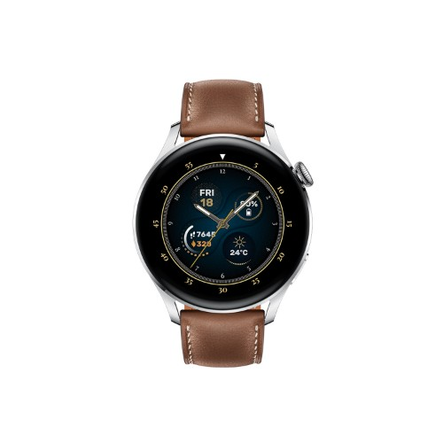 Huawei WATCH 3 Classic - Brown Leather