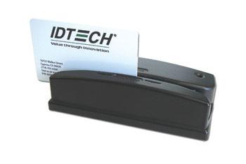 ID TECH Omni lector de tarjeta magnética USB / PS/2 Negro