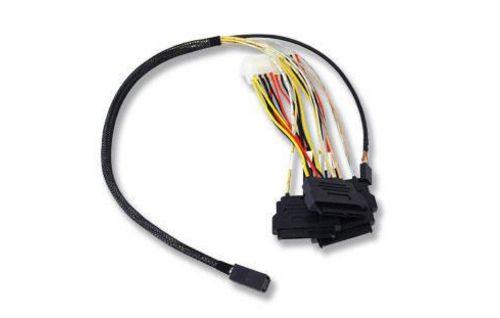 Broadcom L5-00222-00 Serial Attached SCSI (SAS) cable 0.6 m Black