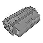 Delacamp Q7553A-R compatible Toner black, 3K pages, 1,080gr (replaces HP 53A)
