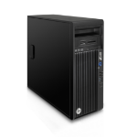 HP Z230 3.4GHz i5-4670 SFF Black Workstation
