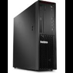Lenovo ThinkStation P320 7th gen Intel® Core™ i7 i7-7700 8 GB DDR4-SDRAM 1000 GB HDD SFF Black Windows 10 Pro