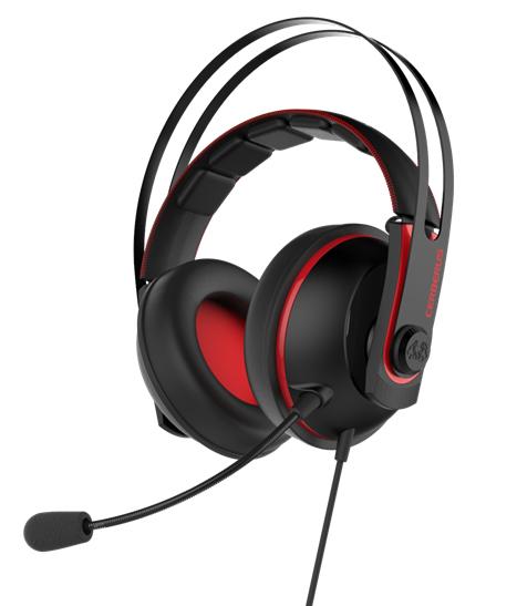 Cerberus V2 Gaming Headset Red