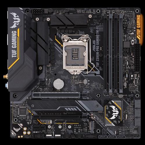 ASUS TUF Z390M-PRO GAMING (WI-FI) moederbord LGA 1151 (Socket H4) Micro ATX Intel Z390