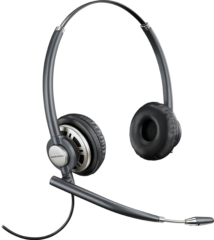 Plantronics Encore Pro HW720 Binaural Head-band Black headset