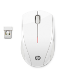 HP X3000 Blizzard White Wireless Mouse