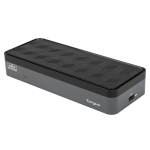Targus DOCK570EUZ notebook dock/port replicator Wired Black