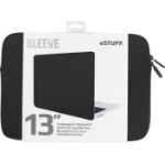 "eSTUFF 13'' Sleeve - Fits Macbook Pro 13.3"" Sleeve case Black"