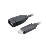 Akasa 15 cm USB 3.1 A/C USB cable 150 m USB A USB C Black