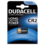 Duracell CR2 Lithium 3V non-rechargeable battery