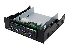 Superspeed USB 3.0 4-port Bay Hub