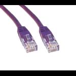 Cables Direct ERT-601V 1m Cat6 U/UTP (UTP) Violet networking cable