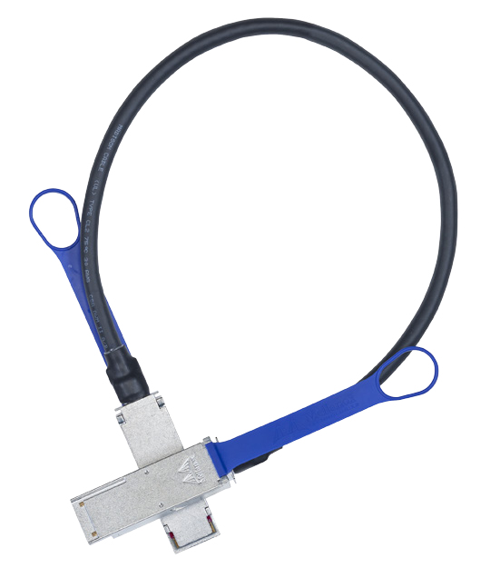 Mellanox Technologies LinkX InfiniBand cable 1.5 m QSFP Blue