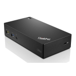 Lenovo ThinkPad USB 3.0 Ultra Dock Bedraad USB 3.0 (3.1 Gen 1) Type-A Zwart