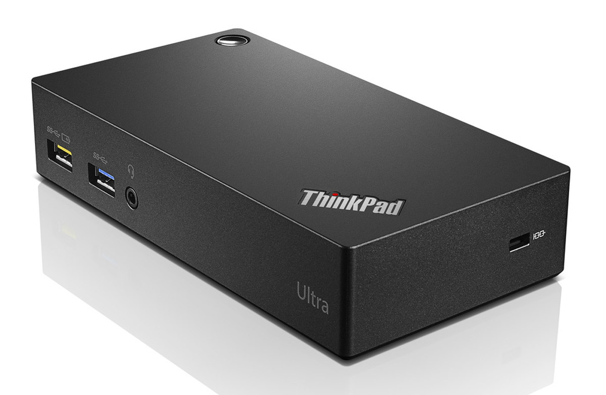 Lenovo ThinkPad USB 3.0 Ultra Dock USB 3.0 (3.1 Gen 1) Type-A Zwart