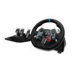 Logitech G920 Steering wheel + Pedals PC,Xbox One Black