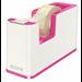 Leitz WOW Polystyrene Metallic,Pink tape dispenser