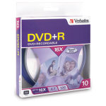 Verbatim 16x DVD+R 4.7GB DVD+R 10pc(s)