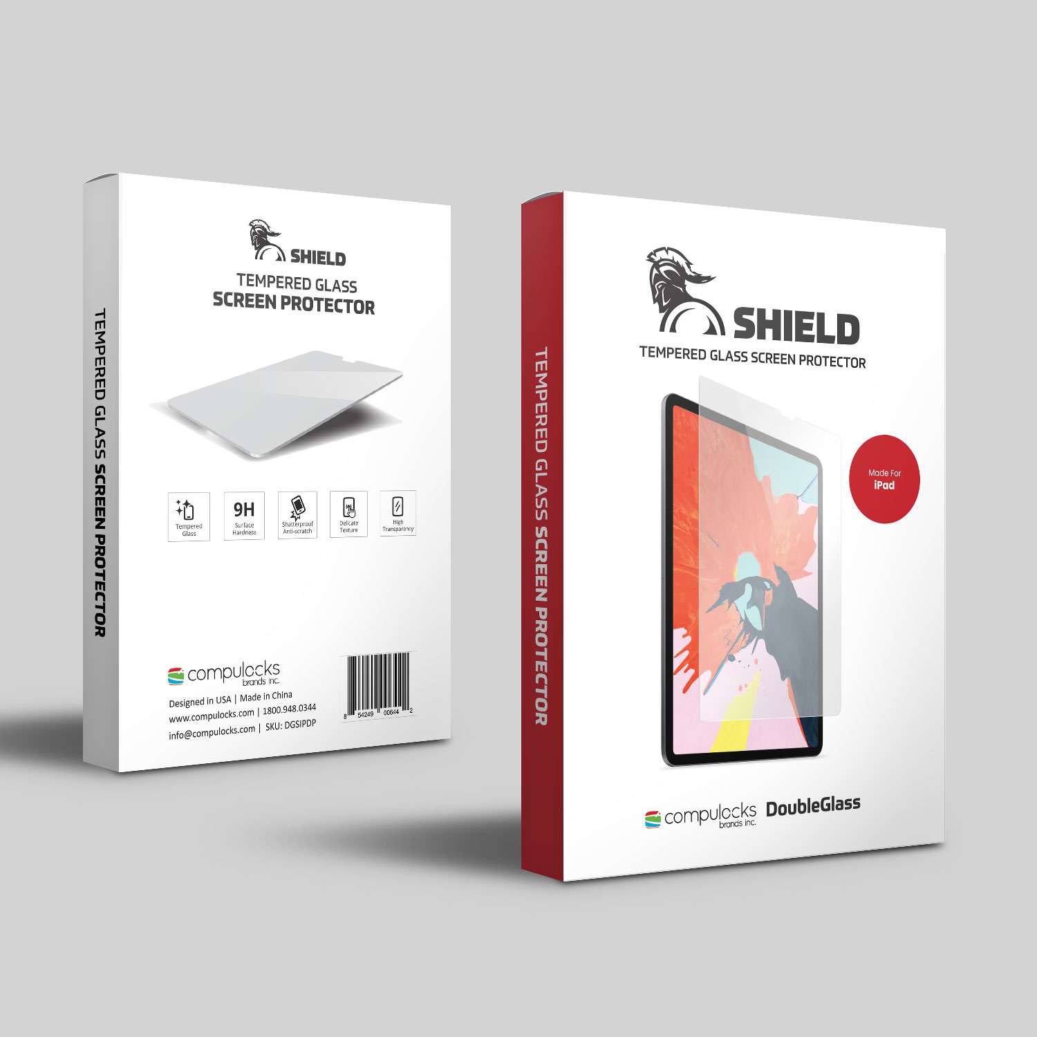 SHIELD - Tempered Glass Screen Protector For iPad Pro 12.9