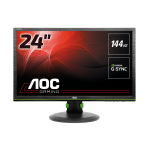 "AOC Gaming G2460PG computer monitor 61 cm (24"") 1920 x 1080 pixels Full HD LCD Flat Matt Black"