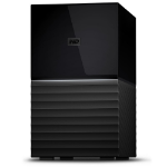 Western Digital My Book Duo Disk Array 12 TB Desktop Schwarz