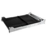 StarTech.com 2U Vented Sliding Rack Shelf w/ Cable Management Arm & Adjustable Mounting Depth - 125lbs / 56.7kg