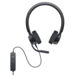 DELL WH3022 Headset Wired Head-band Office/Call center Black