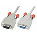 Lindy Serial Extension Cable, 2m serial cable Grey