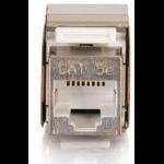 C2G Cat5E Metal Shielded Keystone Jack