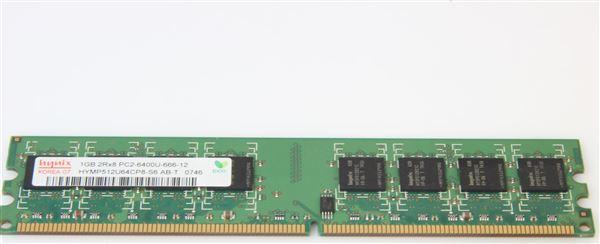 Hynix MEM 1GB PC2-6400U NON-ECC