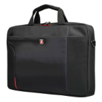 "Port Designs Houston Toploading notebook case 39.6 cm (15.6"") Briefcase Black"