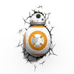 TARGET Star Wars 3D Deco Wall Light - BB-8