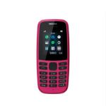 Nokia 105 (2019 edition) 1.77 Inch UK SIM Free Feature Phone (Single SIM) – Pink