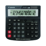 Canon CALCULATOR CANON WS220TC 12 DIGIT SOLAR/BATTERY ( EACH )