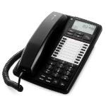 Doro aub300i Analog telephone Caller ID Black, White