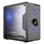 Gorilla Gaming Lite v3 - i5 9400F 2.9GHz, 8GB RAM, 240GB SSD, RX 570 4GB