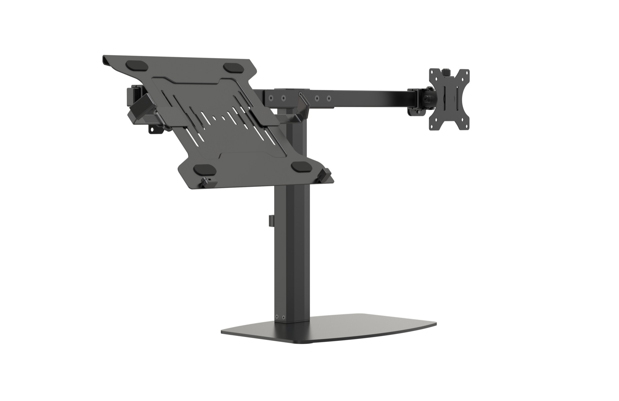"Vision VFM-DSDG+S notebook stand Notebook & monitor arm Black 41.9 cm (16.5"")"