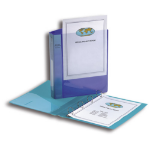 Snopake 13386 ring binder Transparent