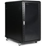 StarTech.com RK2236BKF rack cabinet 22U Freestanding rack Black