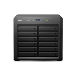 Synology DX1215 disk array Desktop Zwart