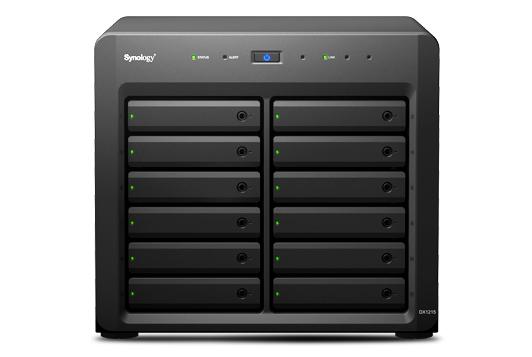 Synology DX1215 disk array
