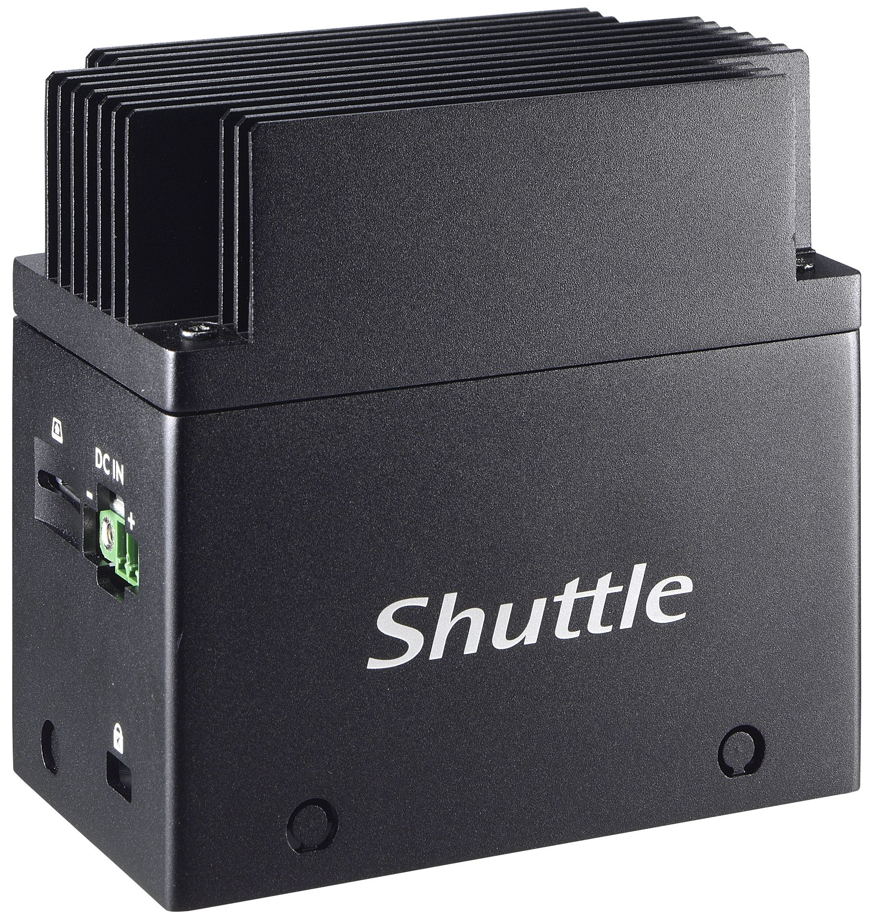 Shuttle EDGE EN01J3 J3355 Intel® Celeron® 4 GB LPDDR4-SDRAM 64 GB eMMC Mini PC Black
